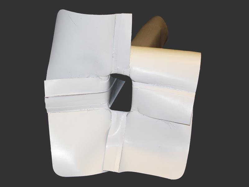 PVC or TPO Thru-Wall Scupper