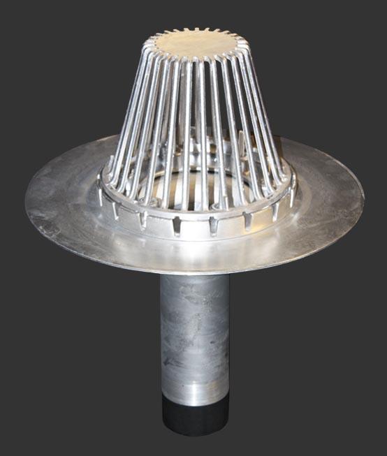 Aluminum Hercules Roof Drain